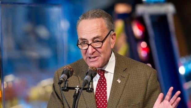 Schumer Unites Senate Democrats, Brings Sanders On Board Promo Image