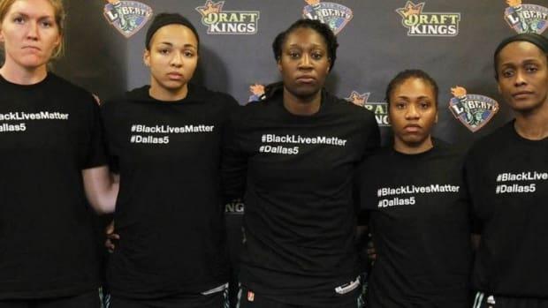 WNBA Fines Players Wearing Black Lives Matter Shirts Promo Image