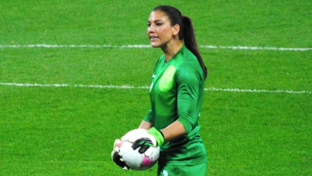 Hope Solo On Sweden Loss: 'We Played A Bunch Of Cowards' Promo Image