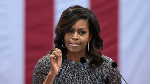 Michelle Obama 'Will Never Run For Office' Promo Image