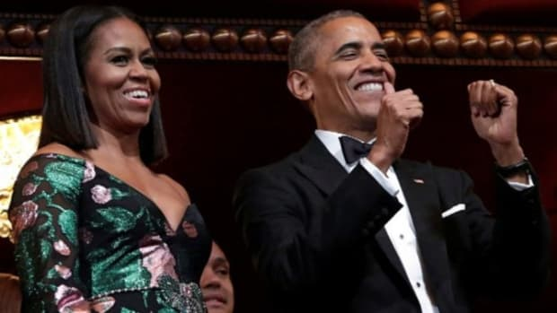 Was This Michelle Obama Dress 'Ridiculous'? (Photo) Promo Image