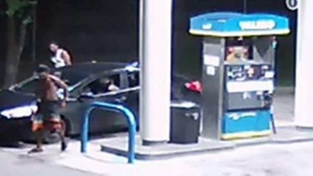 Police Search For Men Who Stole Good Samaritan's Car Promo Image