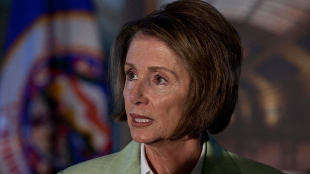 Donald Trump On Nancy Pelosi: 'She's Incompetent' Promo Image