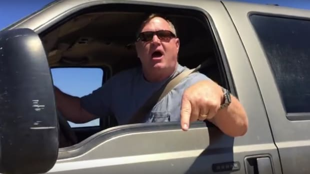 Driver Goes On Road Rage Against Photographer (Video) Promo Image