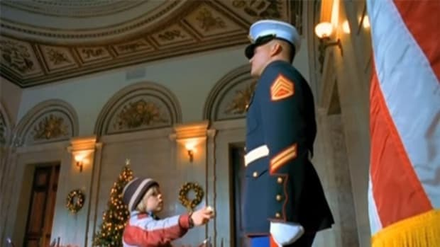 Guard Ignores Boy, Then Does Something Completely Unexpected (Video) Promo Image