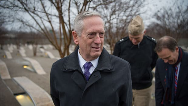 Trump Says Mattis 'Will Override' Him On Using Torture Promo Image