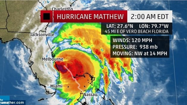 Hurricane Matthew Heading Toward Nuclear Power Stations Promo Image