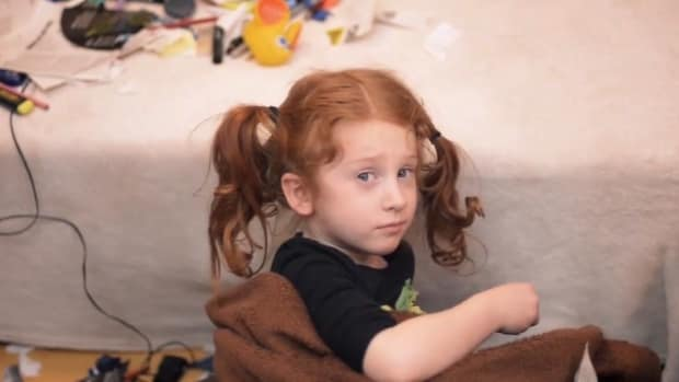 Child Abandonment Ad Takes Shocking Turn (Video) Promo Image