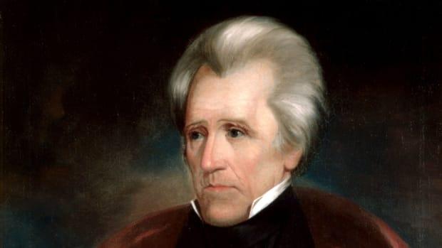 Trump Hangs Andrew Jackson Portrait In Oval Office Promo Image