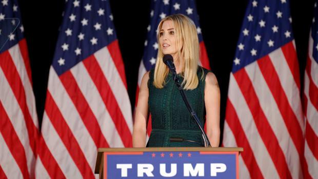 Images Of Ivanka Trump Wearing Own Brand Spark Debate (Photo) Promo Image