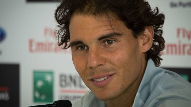 Rafael Nadal Halts Tennis Match For Lost Child (Video) Promo Image
