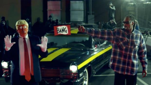 Snoop Dogg Mock-Assassinates Trump In Latest Video (Video) Promo Image