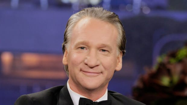 Bill Maher Calls Out Trump For 'Using' Navy SEAL Widow Promo Image