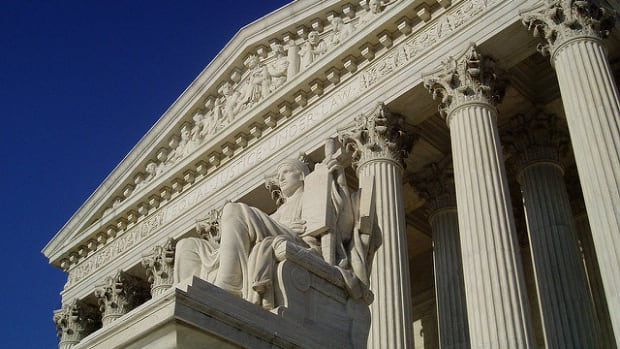Supreme Court Ruling Blocks North Carolina Voter ID Law  Promo Image