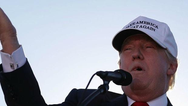 Trump Denies Polling Nosedive Promo Image