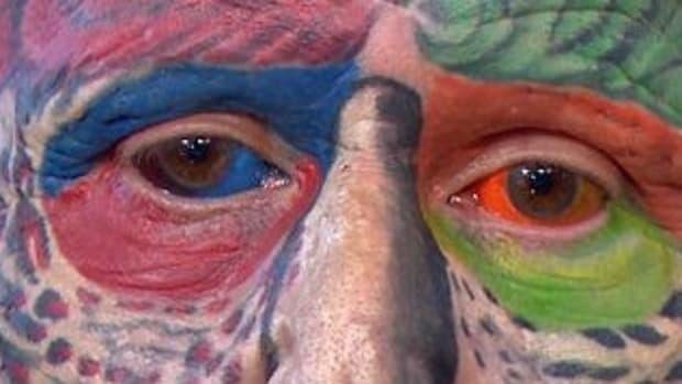 Man Decides To Become A Parrot (Photos) Promo Image