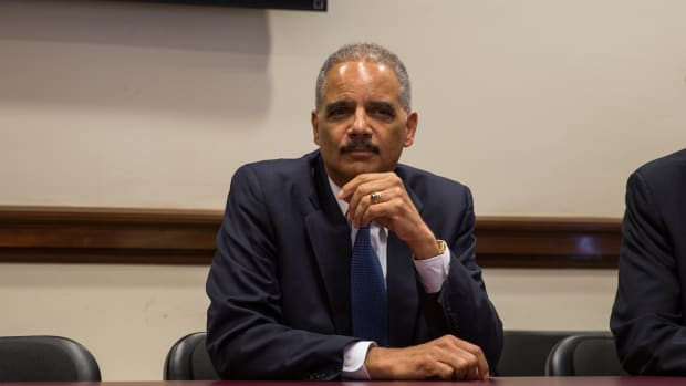 Report: Eric Holder Considering Presidential Bid Promo Image