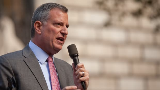 NYPD Defies De Blasio's Sanctuary Vow, Speaks To ICE Promo Image