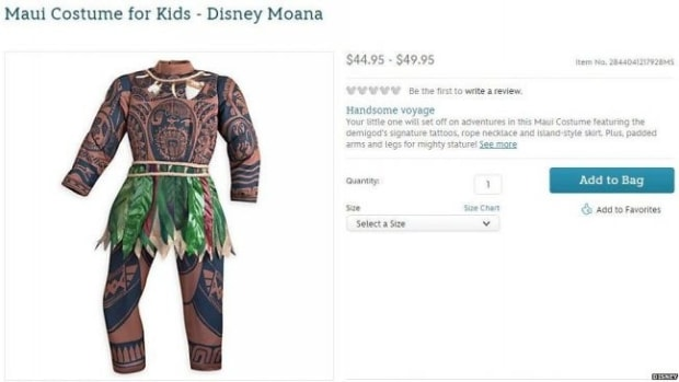Disney Pulls Kids Costume After 'Brownface' Accusation Promo Image