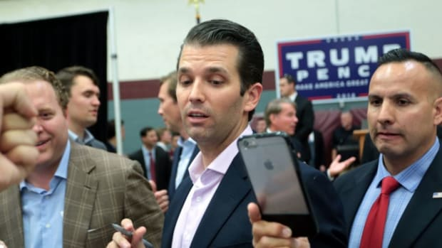 Report: Donald Trump Jr. Wants To Run For Office Promo Image
