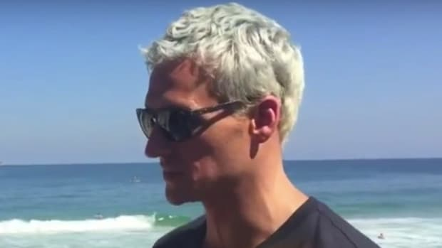 Police: Ryan Lochte Lied About Armed Robbery (Video) Promo Image
