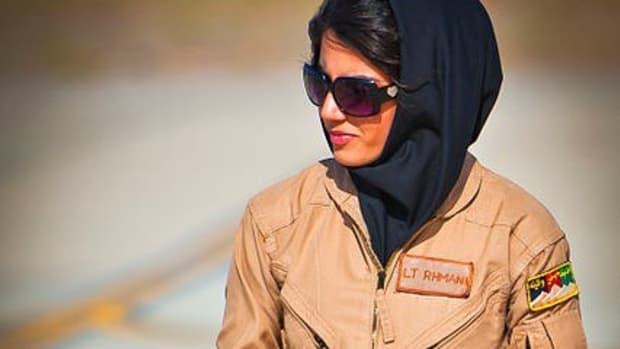 Female Afghani Pilot Seeks Asylum In US Promo Image