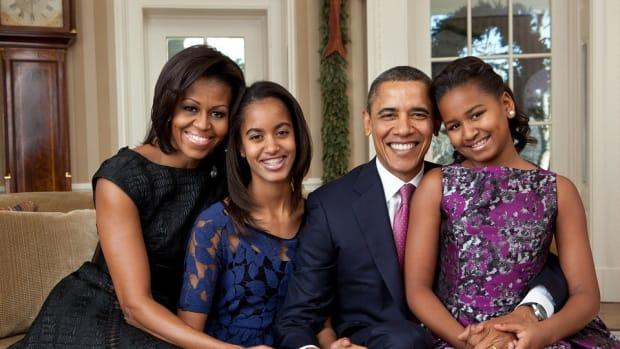 Sasha Obama's Sweet 16 Dress Sparks Debate (Photos) Promo Image