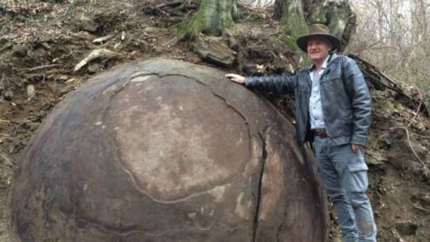 Archaeologist Discovers A Giant Sphere In The Forest  Promo Image