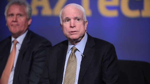 McCain Sent 'Sensitive Information' On Trump To FBI Promo Image
