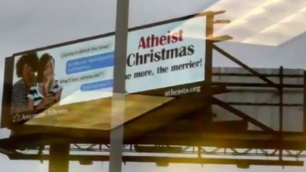 Christians Censor Atheist Billboards In Louisiana (Video) Promo Image