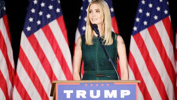 Ivanka Trump Cancels Book Tour, Citing Ethics Concerns Promo Image