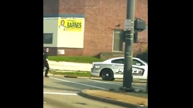 Ohio Man Struggles With Cop, Steals Police Car (Video) Promo Image