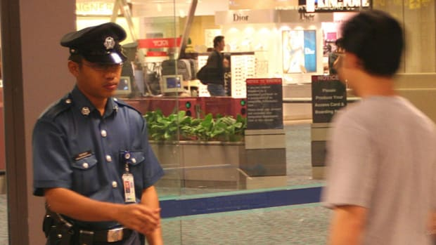 Man May Be Caned After Scuffle With Airport Police (Video) Promo Image