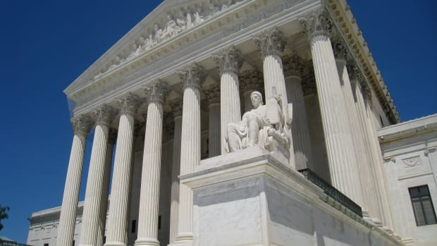 Supreme Court Hears Racial Gerrymandering Case Promo Image