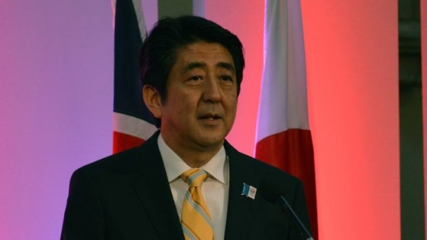 Japanese PM: Trump Approves Japan's Outreach To Russia Promo Image