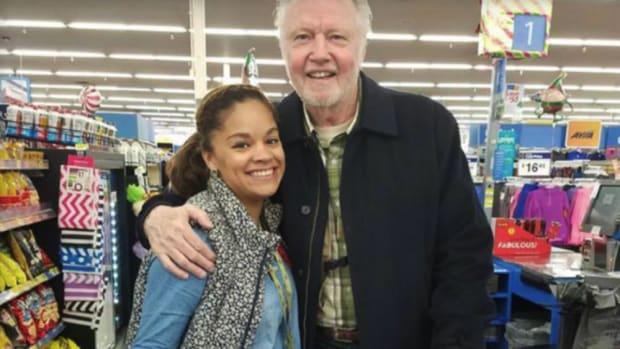 Jon Voight Buys Turkeys For Stranger At Kentucky Walmart Promo Image