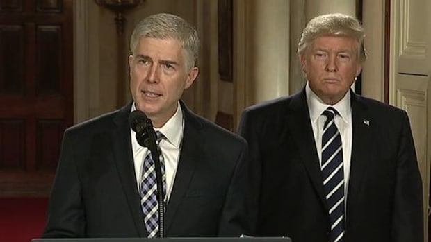 Trump's Supreme Court Nominee Unhappy With His Tweets Promo Image