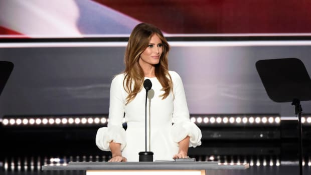 Designers Who Refused To Dress Melania Get Message Promo Image