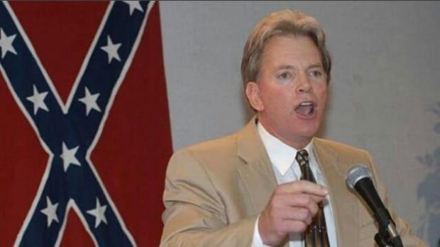 Ex-KKK Leader Duke Celebrates Trump Inauguration Promo Image