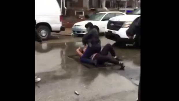 Philadelphia Cop Punches Teen Girl During Street Fight (Video) Promo Image