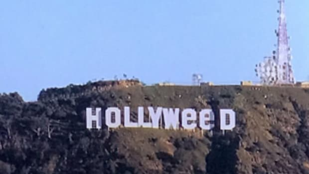 Hollywood Sign Changed To 'Hollyweed' As Prank (Photos) Promo Image