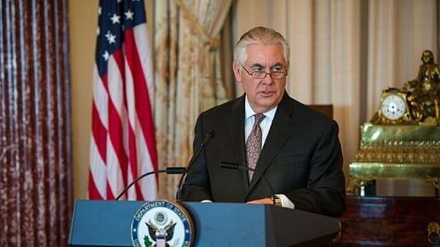 Rex Tillerson: Bashar Al-Assad Must Go Promo Image