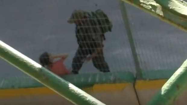 Israeli Police Toss Palestinian Girl's Bike (Video) Promo Image