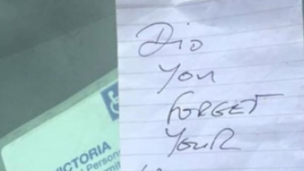 Disabled Woman Finds Unexpected Note Left On Her Car (Photos) Promo Image