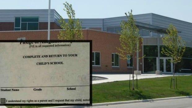 Mom Gets Surprising Permission Slip From Child's School, Responds Accordingly (Photo) Promo Image