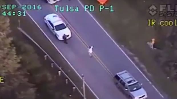 Black Man Had Hands Up When Tulsa Cop Killed Him (Video) Promo Image