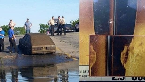 Man Notices Something Bizarre On Underwater Sonar, Solves 20-Year Mystery (Photos)  Promo Image