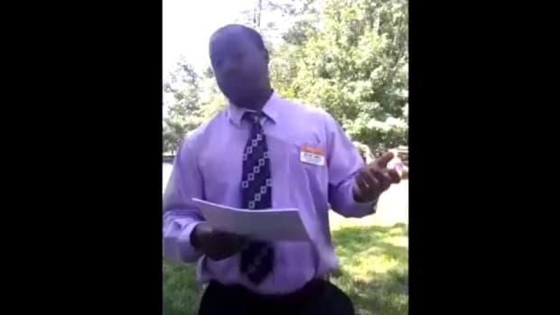 Clemson University Official Confronts Praying Man (Video) Promo Image