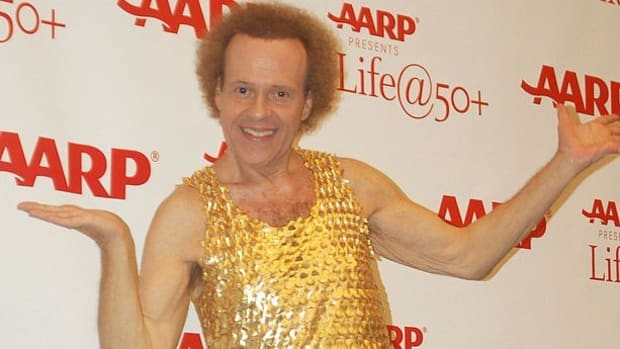 Richard Simmons Hospitalized For 'Severe Indigestion' Promo Image