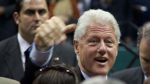 Message For Bill Clinton From Man Who Says He Is Son Promo Image
